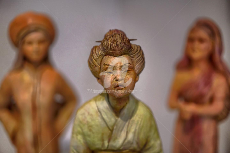 Valerie Barrault - Cueillette de thé Yunnan, Thé Sencha et Thé Darjeeling